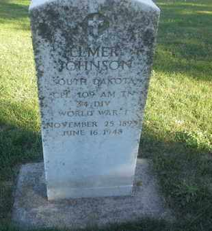 "JOHNSON, ELMER  ""MILITARY"" - Hamlin County, South Dakota 