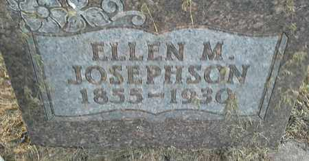 JOSEPHSON, ELLEN M - Hamlin County, South Dakota | ELLEN M JOSEPHSON - South Dakota Gravestone Photos