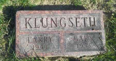 KLUNGSETH, LARRY - Hamlin County, South Dakota | LARRY KLUNGSETH - South Dakota Gravestone Photos