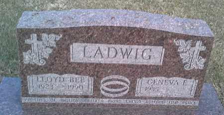 LADWIG, GENEVA E - Hamlin County, South Dakota | GENEVA E LADWIG - South Dakota Gravestone Photos