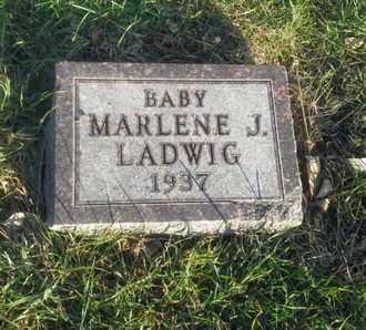 LADWIG, MARLENE J - Hamlin County, South Dakota | MARLENE J LADWIG - South Dakota Gravestone Photos