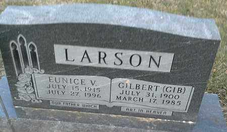 LARSON, EUNICE V - Hamlin County, South Dakota | EUNICE V LARSON - South Dakota Gravestone Photos