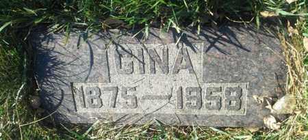 LARSON, GINA - Hamlin County, South Dakota | GINA LARSON - South Dakota Gravestone Photos