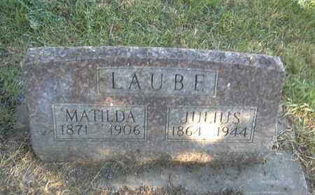 LAUBE, MATILDA - Hamlin County, South Dakota | MATILDA LAUBE - South Dakota Gravestone Photos