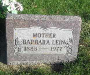 LEIN, BARBARA - Hamlin County, South Dakota | BARBARA LEIN - South Dakota Gravestone Photos