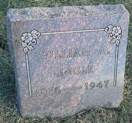 LINGLE, WILLIAM A - Hamlin County, South Dakota | WILLIAM A LINGLE - South Dakota Gravestone Photos