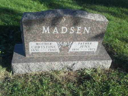 MADSEN, CHRISTINE - Hamlin County, South Dakota | CHRISTINE MADSEN - South Dakota Gravestone Photos