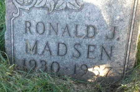 MADSEN, RONALD J - Hamlin County, South Dakota   RONALD J MADSEN - South Dakota Gravestone Photos