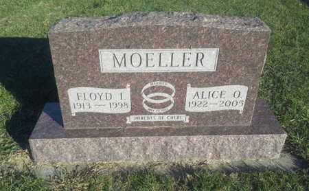 MOELLER, ALICE O - Hamlin County, South Dakota | ALICE O MOELLER - South Dakota Gravestone Photos