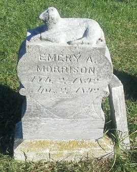 MORRISON, EMERY A - Hamlin County, South Dakota | EMERY A MORRISON - South Dakota Gravestone Photos