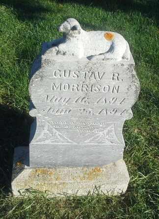 MORRISON, GUSTAV R - Hamlin County, South Dakota | GUSTAV R MORRISON - South Dakota Gravestone Photos