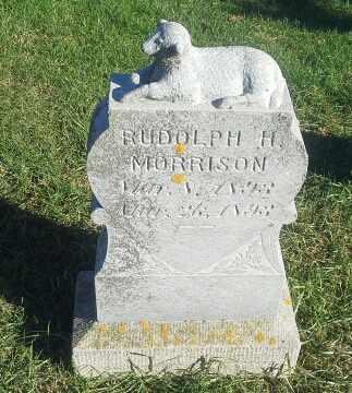 MORRISON, RUDOLPH H - Hamlin County, South Dakota   RUDOLPH H MORRISON - South Dakota Gravestone Photos