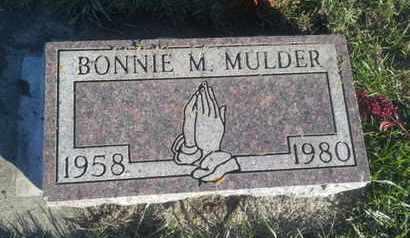 MULDER, BONNIE M - Hamlin County, South Dakota   BONNIE M MULDER - South Dakota Gravestone Photos