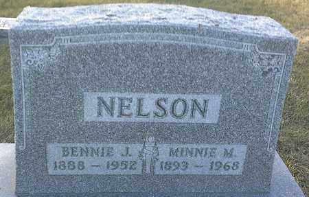 NELSON, BERNIE J - Hamlin County, South Dakota | BERNIE J NELSON - South Dakota Gravestone Photos