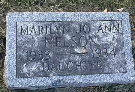 NELSON, MARY JO ANN - Hamlin County, South Dakota | MARY JO ANN NELSON - South Dakota Gravestone Photos