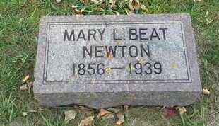 NEWTON, MARY L - Hamlin County, South Dakota   MARY L NEWTON - South Dakota Gravestone Photos