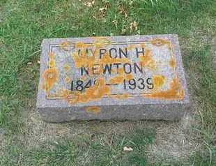 NEWTON, MYRON H - Hamlin County, South Dakota | MYRON H NEWTON - South Dakota Gravestone Photos