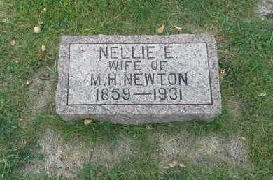 NEWTON, NELLIE E - Hamlin County, South Dakota   NELLIE E NEWTON - South Dakota Gravestone Photos