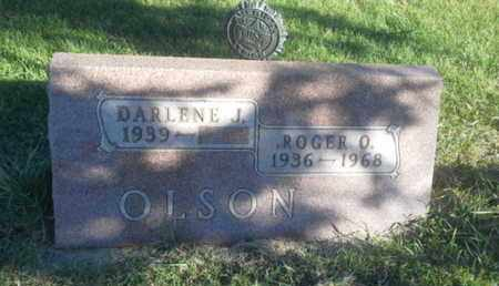 OLSON, DARLENE J - Hamlin County, South Dakota   DARLENE J OLSON - South Dakota Gravestone Photos