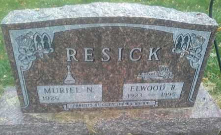 RESICK, ELWOOD R - Hamlin County, South Dakota | ELWOOD R RESICK - South Dakota Gravestone Photos