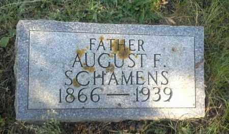 SCHAMENS, AUGUST F - Hamlin County, South Dakota | AUGUST F SCHAMENS - South Dakota Gravestone Photos