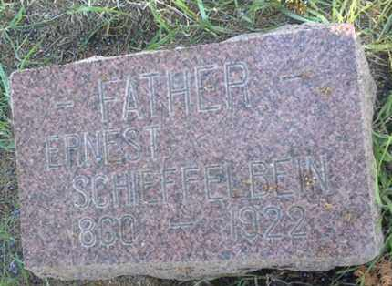 SCHEFFELBEIN, ERNEST - Hamlin County, South Dakota | ERNEST SCHEFFELBEIN - South Dakota Gravestone Photos