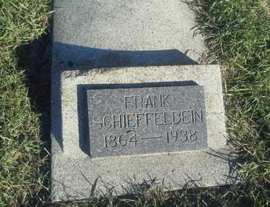 SCHIEFFELBEIN, FRANK - Hamlin County, South Dakota | FRANK SCHIEFFELBEIN - South Dakota Gravestone Photos