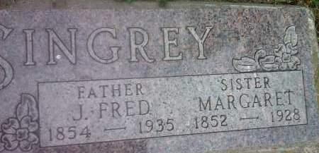SINGREY, FRED J - Hamlin County, South Dakota   FRED J SINGREY - South Dakota Gravestone Photos