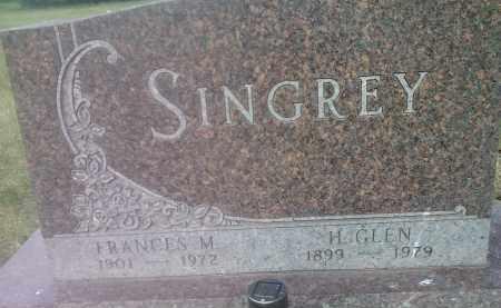 SINGREY, GLEN H - Hamlin County, South Dakota | GLEN H SINGREY - South Dakota Gravestone Photos