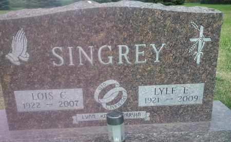 SINGREY, LOIS C - Hamlin County, South Dakota | LOIS C SINGREY - South Dakota Gravestone Photos