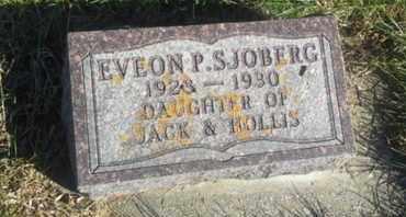 SJOBERG, ELVEON P - Hamlin County, South Dakota | ELVEON P SJOBERG - South Dakota Gravestone Photos