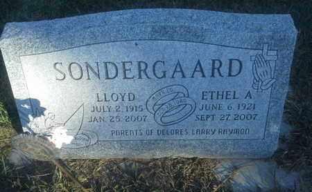 SONDERGAARD, LLOYD - Hamlin County, South Dakota   LLOYD SONDERGAARD - South Dakota Gravestone Photos