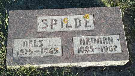 SPILDE, NELS L - Hamlin County, South Dakota | NELS L SPILDE - South Dakota Gravestone Photos