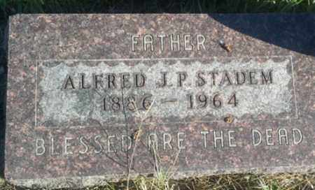 STADEM, ALFRED J P - Hamlin County, South Dakota | ALFRED J P STADEM - South Dakota Gravestone Photos