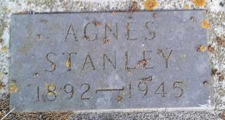 STANLEY, AGNES - Hamlin County, South Dakota | AGNES STANLEY - South Dakota Gravestone Photos