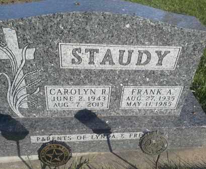 STAUDY, CAROLYN R - Hamlin County, South Dakota | CAROLYN R STAUDY - South Dakota Gravestone Photos