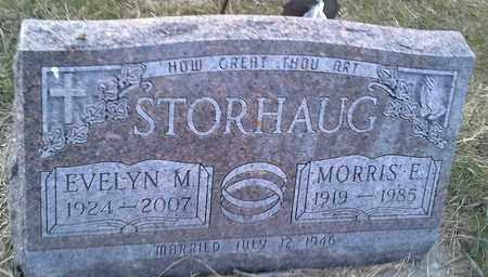 STORHAUG, EVELYN M - Hamlin County, South Dakota | EVELYN M STORHAUG - South Dakota Gravestone Photos