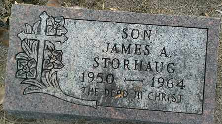 STORHAUG, JAMES A - Hamlin County, South Dakota | JAMES A STORHAUG - South Dakota Gravestone Photos