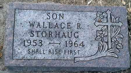STORHAUG, WALLACE R - Hamlin County, South Dakota | WALLACE R STORHAUG - South Dakota Gravestone Photos