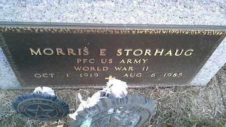 "STRORHAUG, MORRIS  E ""MILITARY - Hamlin County, South Dakota | MORRIS  E ""MILITARY STRORHAUG - South Dakota Gravestone Photos"