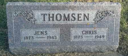 THOMSEN, JENS - Hamlin County, South Dakota | JENS THOMSEN - South Dakota Gravestone Photos