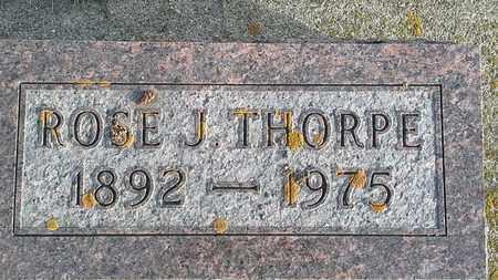 THORPE, ROSE J - Hamlin County, South Dakota   ROSE J THORPE - South Dakota Gravestone Photos