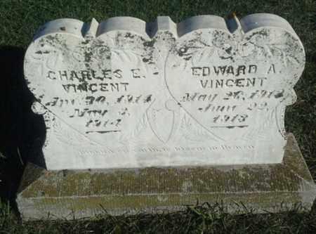VINCENT, CHARLES E - Hamlin County, South Dakota | CHARLES E VINCENT - South Dakota Gravestone Photos