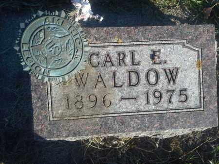 WALDOW, CARL E - Hamlin County, South Dakota   CARL E WALDOW - South Dakota Gravestone Photos