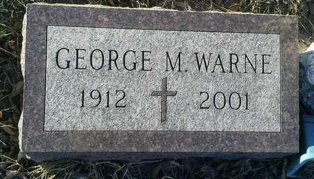 WARNE, GEORGE M - Hamlin County, South Dakota | GEORGE M WARNE - South Dakota Gravestone Photos