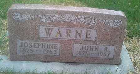 WARNE, JOHN R - Hamlin County, South Dakota | JOHN R WARNE - South Dakota Gravestone Photos