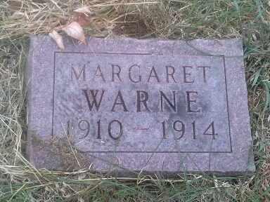WARNE, MARGARET - Hamlin County, South Dakota   MARGARET WARNE - South Dakota Gravestone Photos
