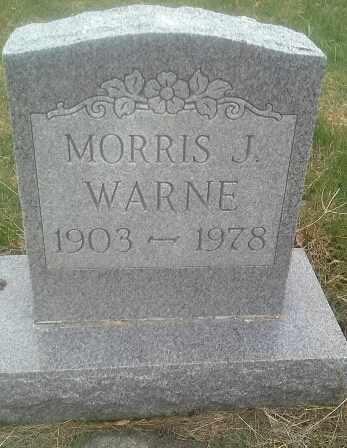 WARNE, MORRIS J - Hamlin County, South Dakota | MORRIS J WARNE - South Dakota Gravestone Photos