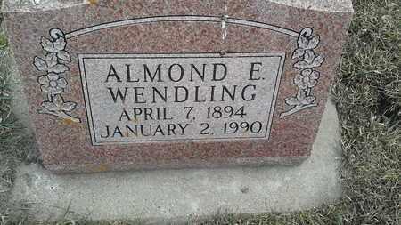 WENDLING, ALMOND E - Hamlin County, South Dakota | ALMOND E WENDLING - South Dakota Gravestone Photos