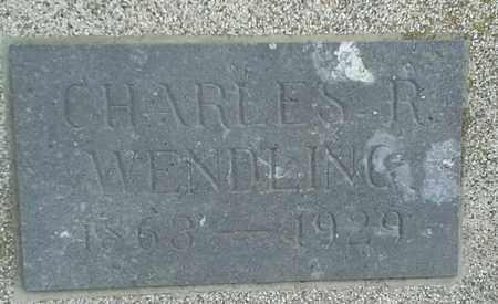 WENDLING, CHARLES R - Hamlin County, South Dakota   CHARLES R WENDLING - South Dakota Gravestone Photos